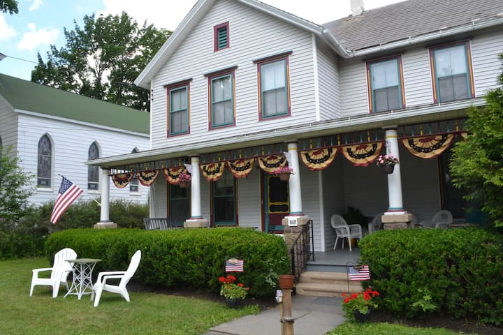 Historical Victorian in the Poconos-Holtz House