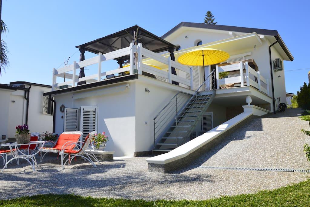 La Villa e le camere