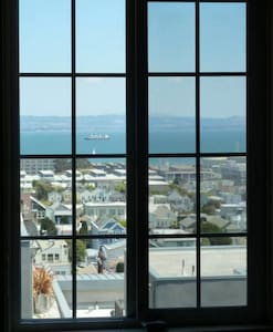 Private Room & Bath with Bay View! - San Francisco - House