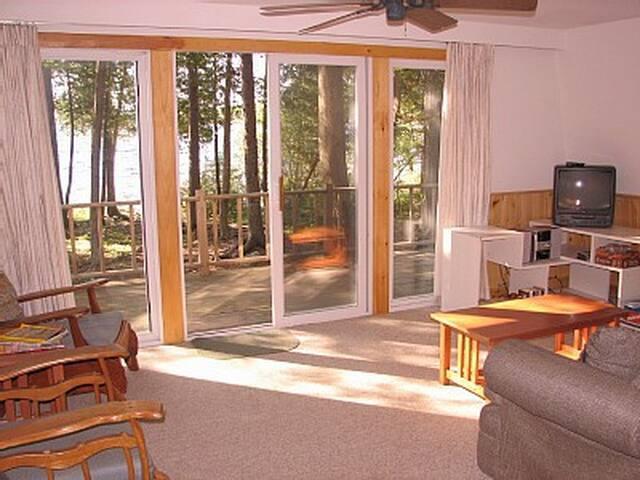 Downstairs living room( added flatscreen tv)