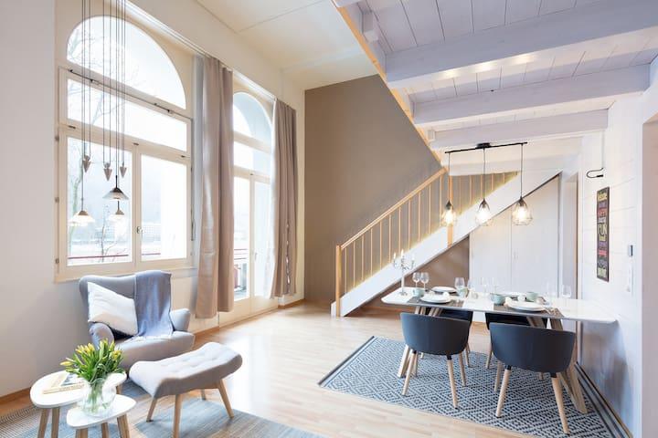 Henrik, Loft Apartment, Höhematte