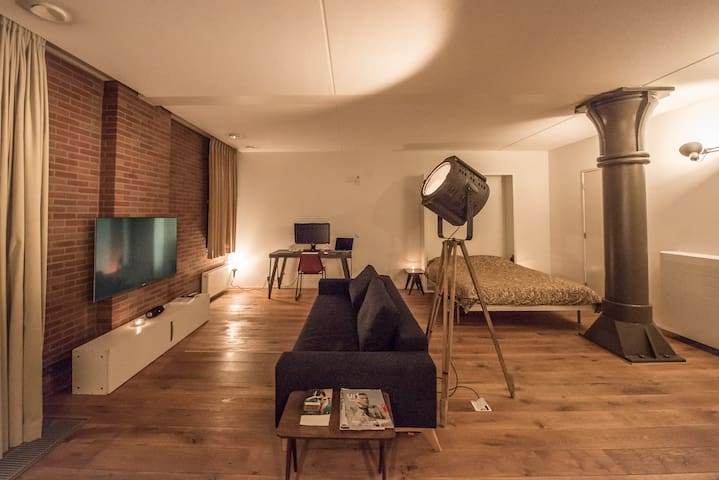 Luxury designer loft in renovated warehouse - 阿姆斯特丹 - 公寓