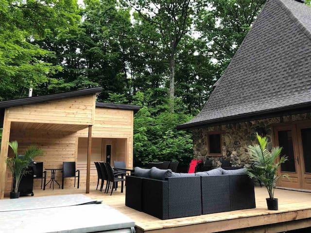 Chalet Agapê-12, montagne, nature, spa & sauna