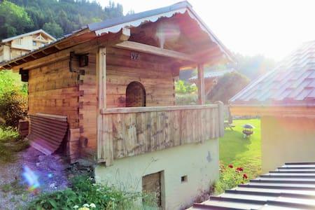 Mazot La Perrière - Saint-Gervais-les-Bains - Blockhütte
