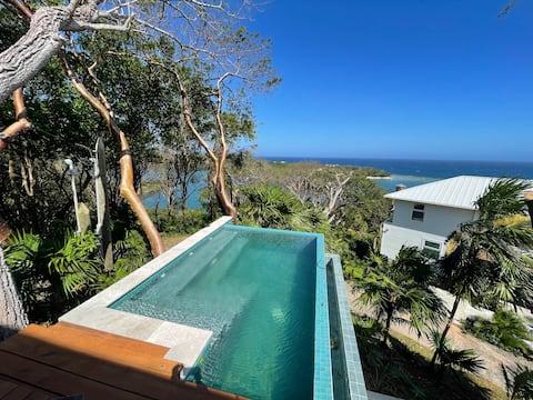 Zen inspired villa, nestled in nature