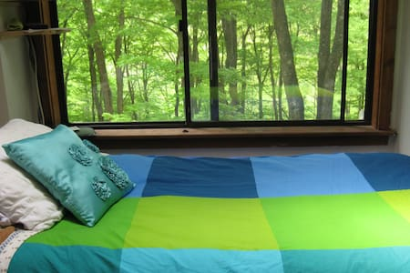 Treetop Retreat - for Clarity - Fast or Cleanse - Pound Ridge - Σπίτι