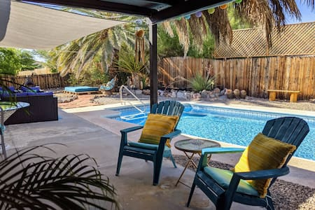 Casita: Privacy, Pool, Spa & Laid-back Atmosphere