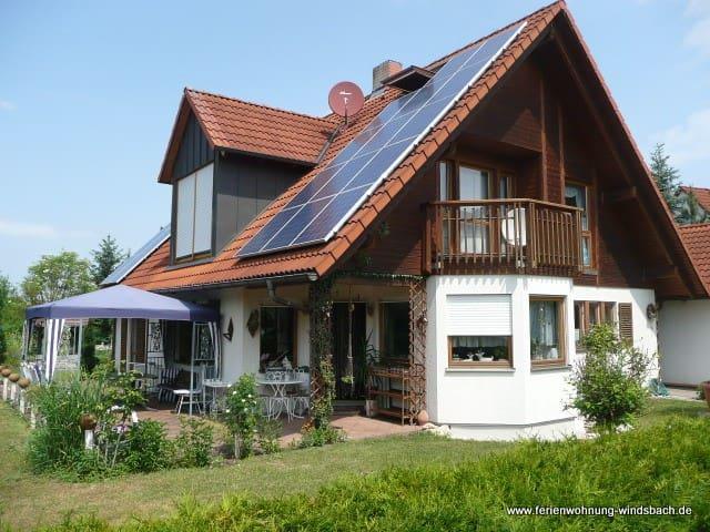 Erdgeschosswohnung m.Terasse & WIFI - Windsbach - Condomínio