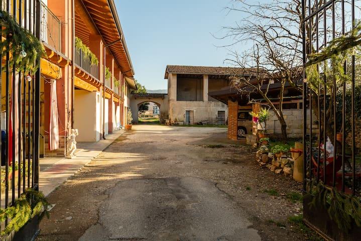 Una casa di campagna a due passi dalla città