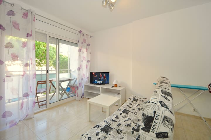 Apartment Mexica, 100m from the beach, air conditioning