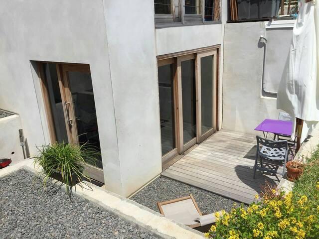 Beau 2-pièces dans villa - Les Avirons - อพาร์ทเมนท์