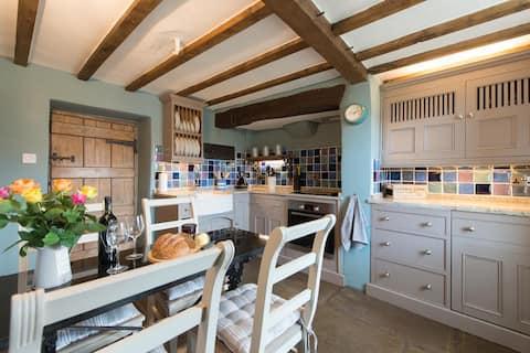 Rose Cottage on England / Wales border. Shropshire