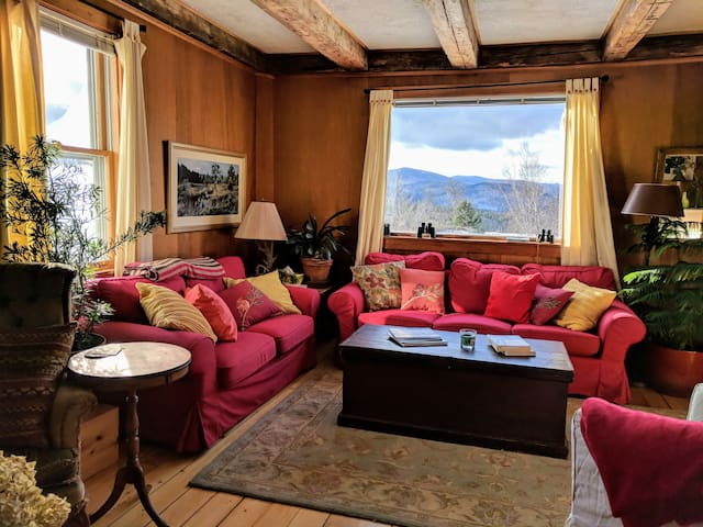 Charming home in Green Mtns: ski/hike/bike/relax