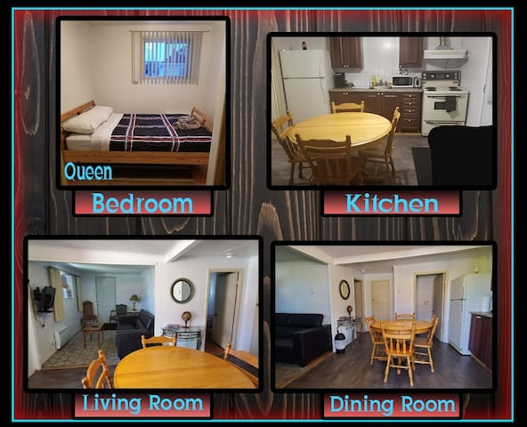 Downtown 1 Bedroom with Parking!