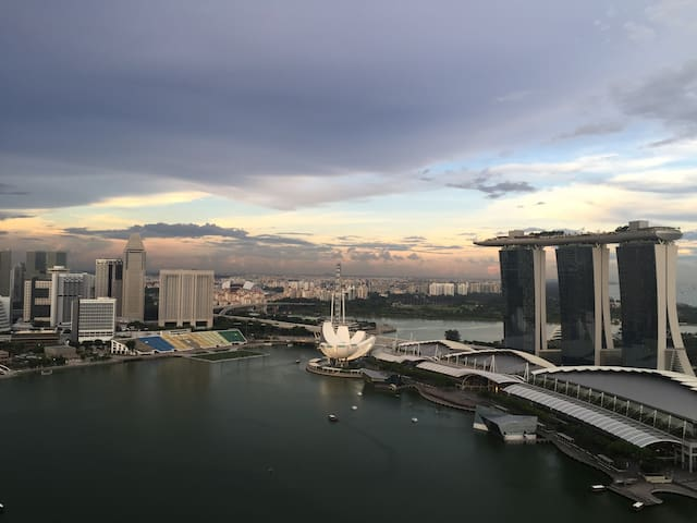 Downtown Singapore Marina View Studio