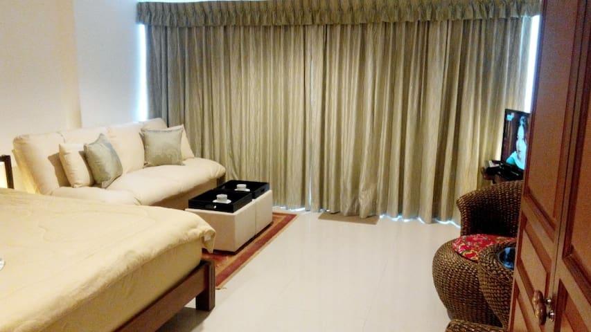 View Talay Beach Condo 6, next to Central Festival - Pattaya - Apartamento
