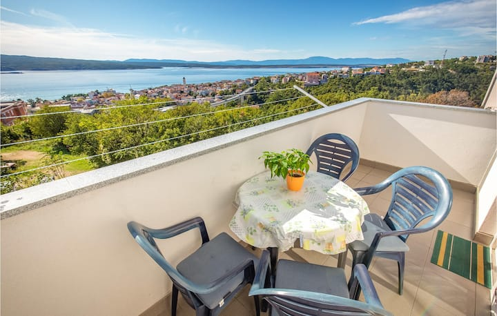Beautiful home in Crikvenica with WiFi and 1 Bedrooms
