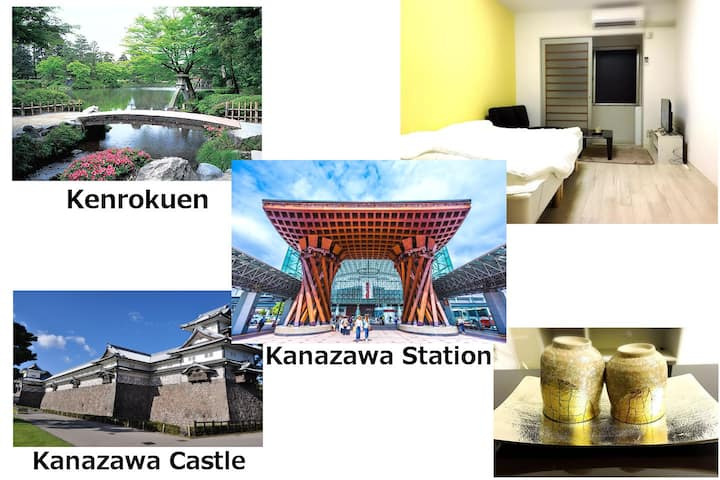 3 separated room-Kanazawa Dome-FreeParking