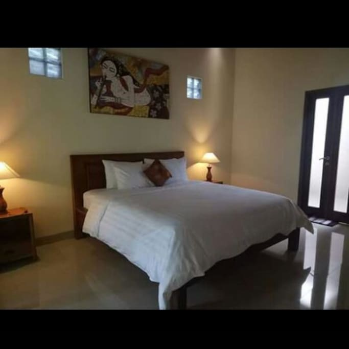 king bed with two bed room.