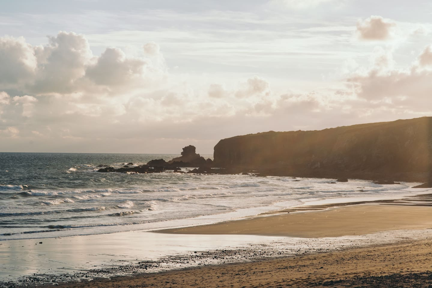 The coastline is full of beautiful beaches