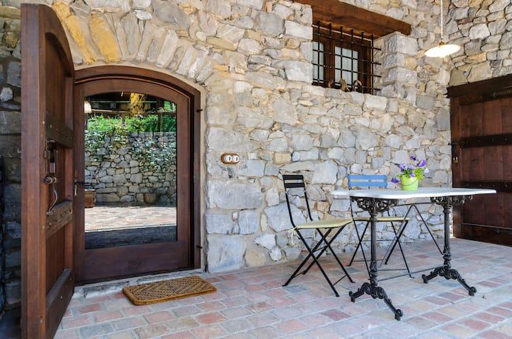 Apartamento rural terraza Garrotxa