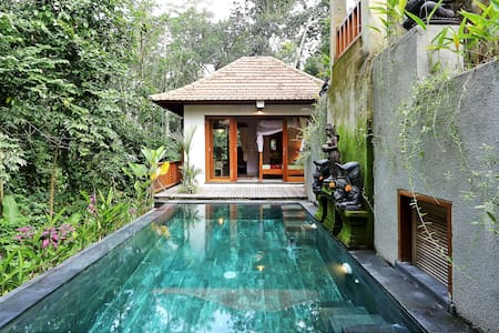 1BR VILLA~POOL~RICE FIELDS ~JUNGLE - Ubud - Villa