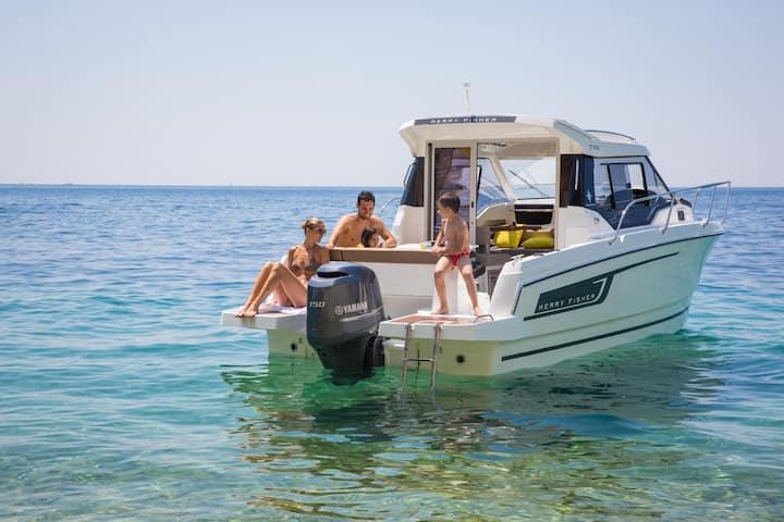 Geführte Bootstour auf dem Bodensee