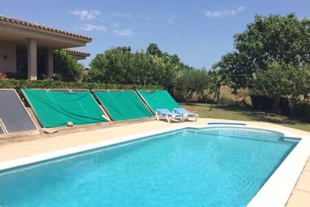 Casa Campo con Piscina / Swimming pool house - La Pera - 別荘