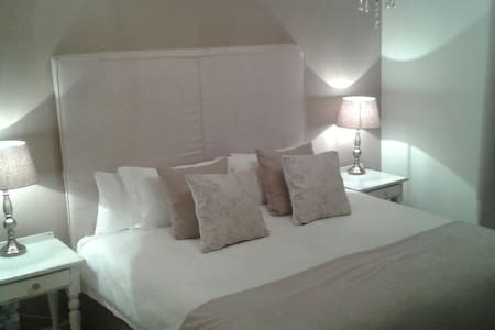 Large Double room with King bed - House