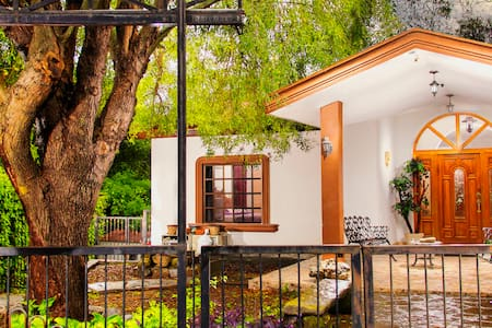 House in Santiago, N.L. México. Magic Town.