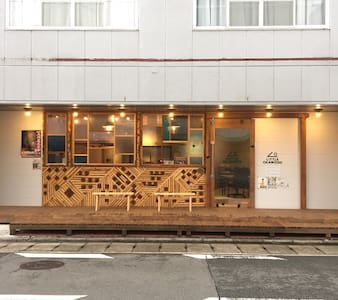 Room 302, with co-working space in Okawa city.