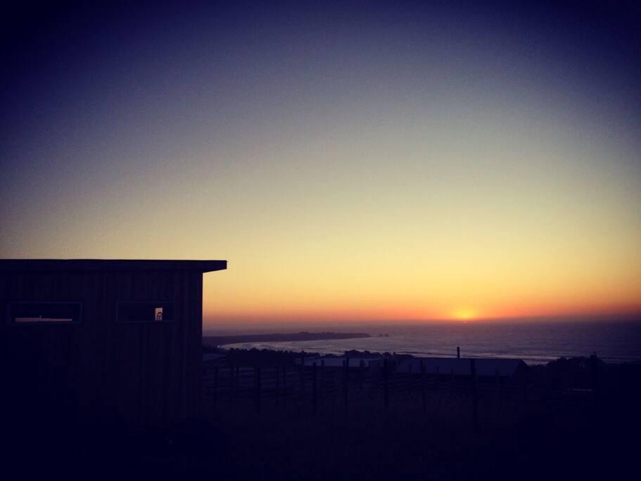 Vista a Punta de Lobos