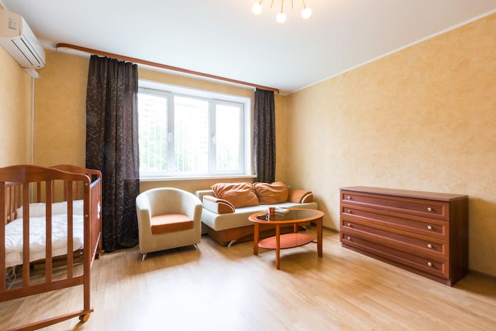 Супер апартаменты! Юбилейная 36-2 - Mytishchi - Daire