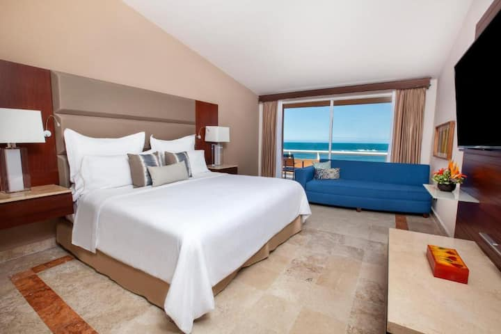 Gratifying Room Ocean View Double Bed At Veracruz