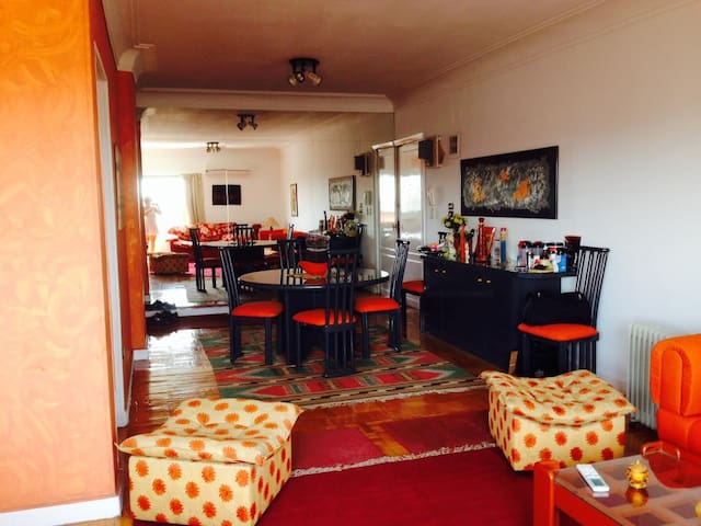 Bright Cheerful Apt' in the Heart of Heliopolis