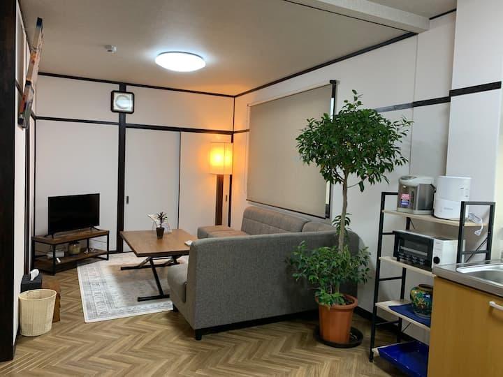 Japanese Modern Style NARA Second House #202 40㎡