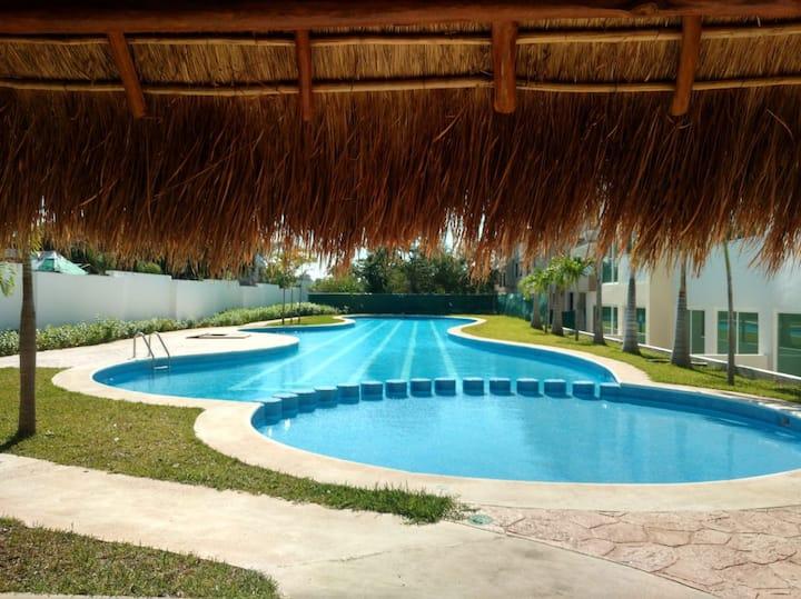Relax 1-7 personas 5 min@mar 3 albercas Wifi AC TV