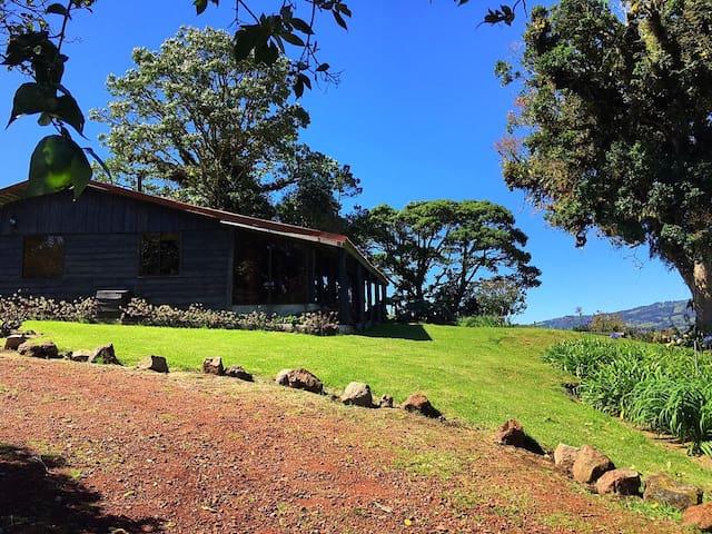 Volcano View Field House at Poas Volcano Lodge