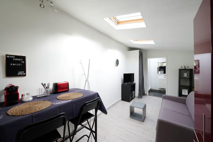 Maisonnette Cozy à 10 min de Paris