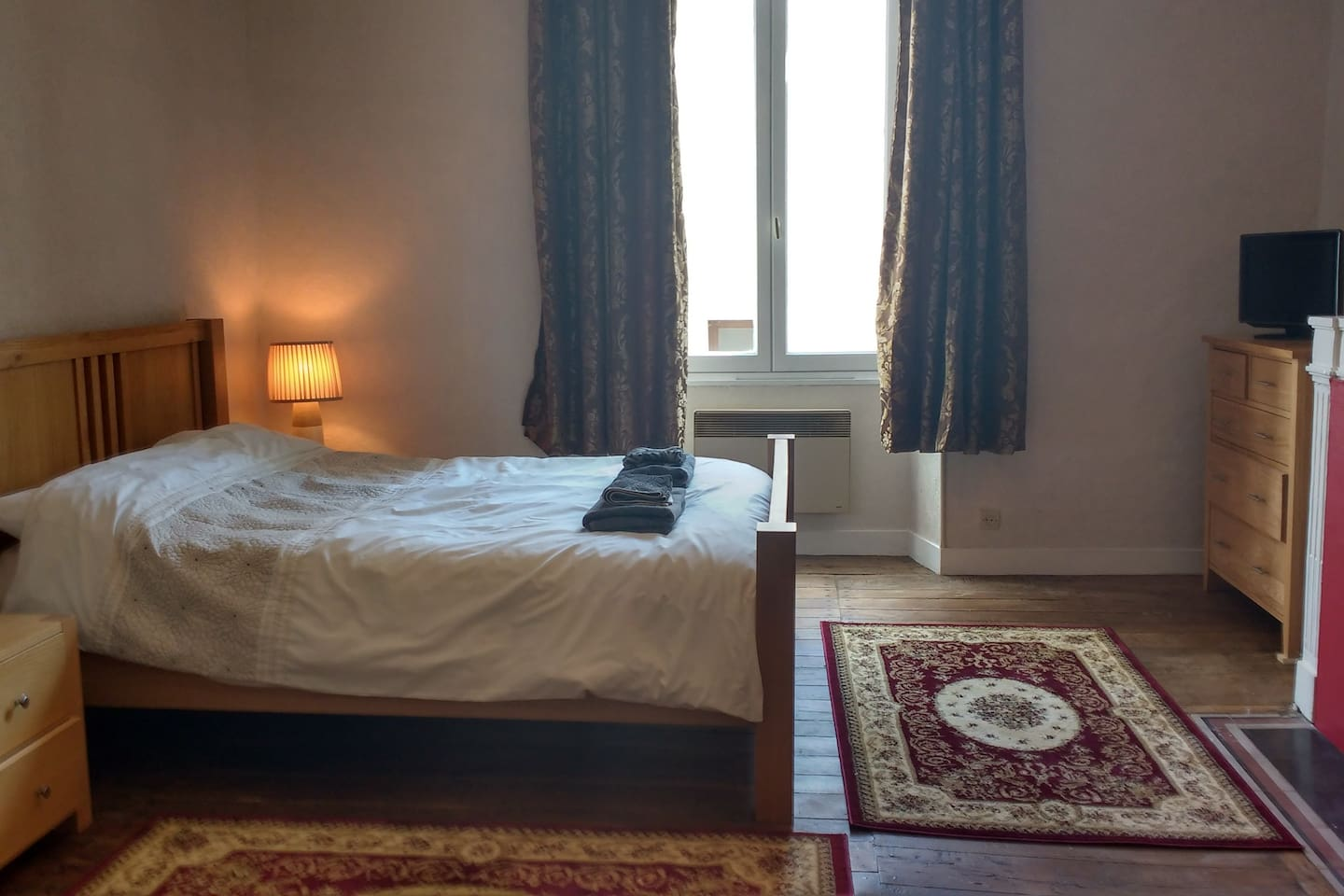 The large double room