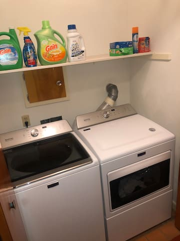 Laundry area to use as you wish!