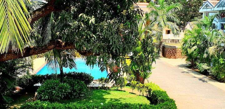 GR beautiful Villa in Arpora 5mins to Baga beach