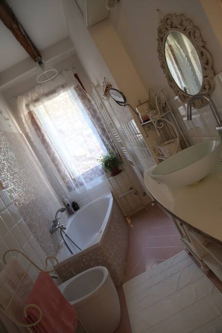 The bathroom is for the exclusive use of our guests!