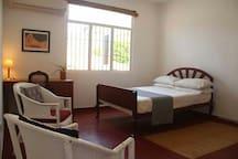 spacious ac room