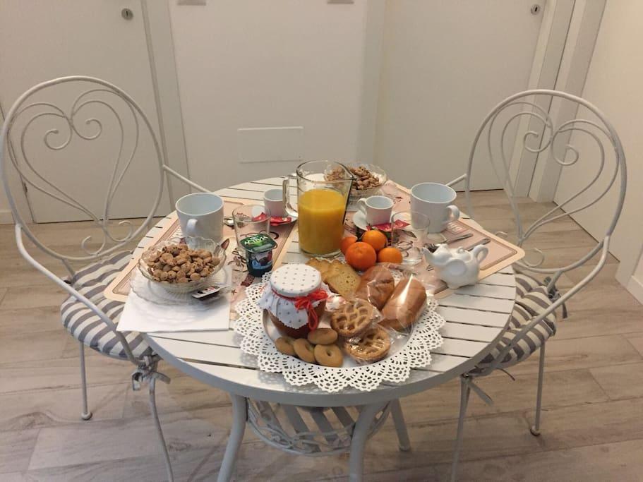 The morning breakfast