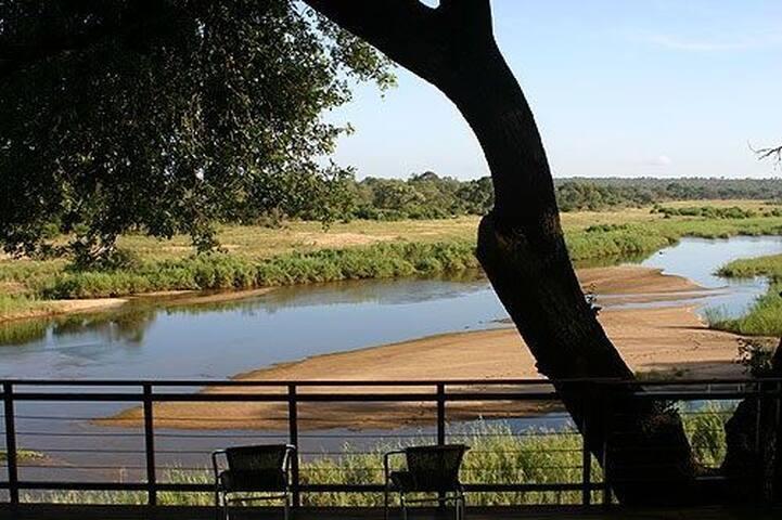 Ngwenya Lodge, overlooking Kruger National Park.