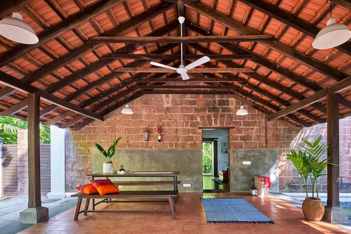 Casa Caisua- A Susegad Goan Loft Style Villa