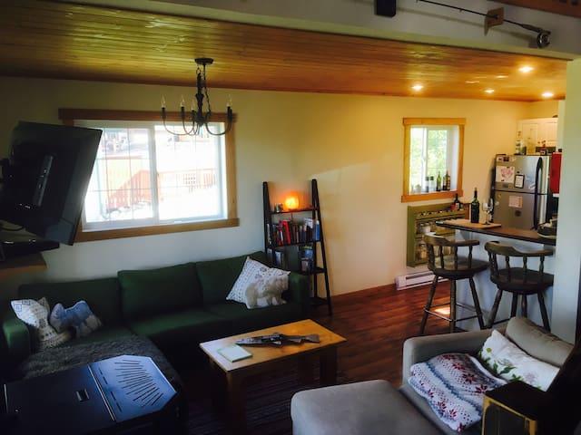 Ski-In Ski-Out Cottage at Asessippi Ski Resort