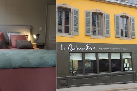 Ensuite room in a lovely old townhouse (ch.1) - Audierne - Bed & Breakfast