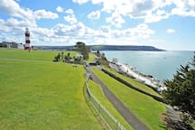 View of the Hoe and Plymouth Sound